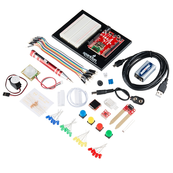Sparkfun inventors kit para Photon