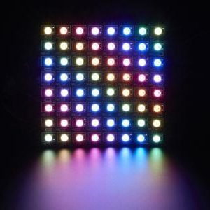 Matriz flexible de 8x8 LEDs NeoPixel RGB