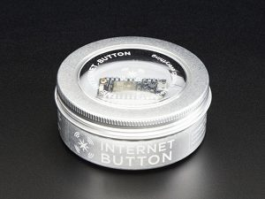 Particle photon internet button