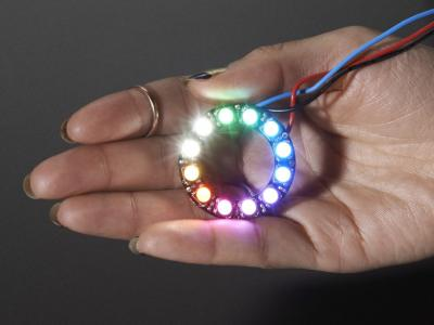 Anillo Neopixel Ring - 12 LEDs RGBW