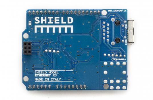 Shield Rev3 Arduino Ethernet con Módulo PoE