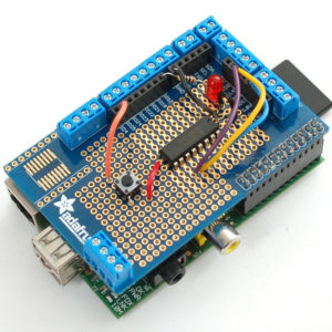 Placa de prototipado para Raspberry Pi - Adafruit Prototyping Pi Plate Kit for Raspberry Pi