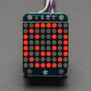 Mini matriz 8x8 LEDs rojos