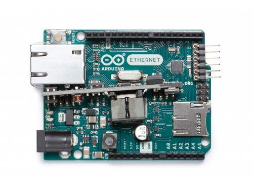 Arduino Rev3 Ethernet Shield con Módulo PoE