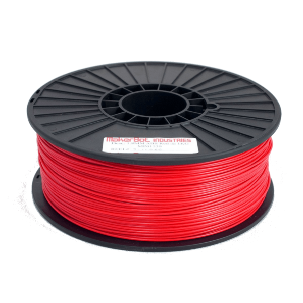 PLA de Makerbot Industries 1.75 mm 1 kilo - Rouge