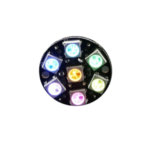 Joya NeoPixel - 7 WS2812 5050 RGB LED con drivers integrados