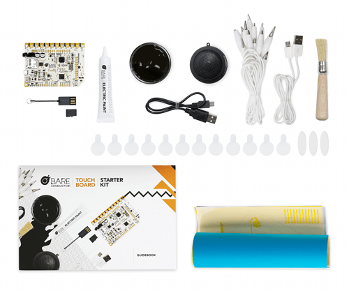 Touch board starter kit - Bare conductive