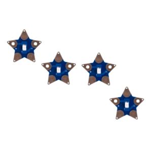 LED cosible estrella - Sewable Star LEDs - de Teknikio